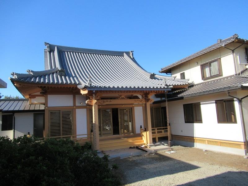 浄福寺本堂再建工事