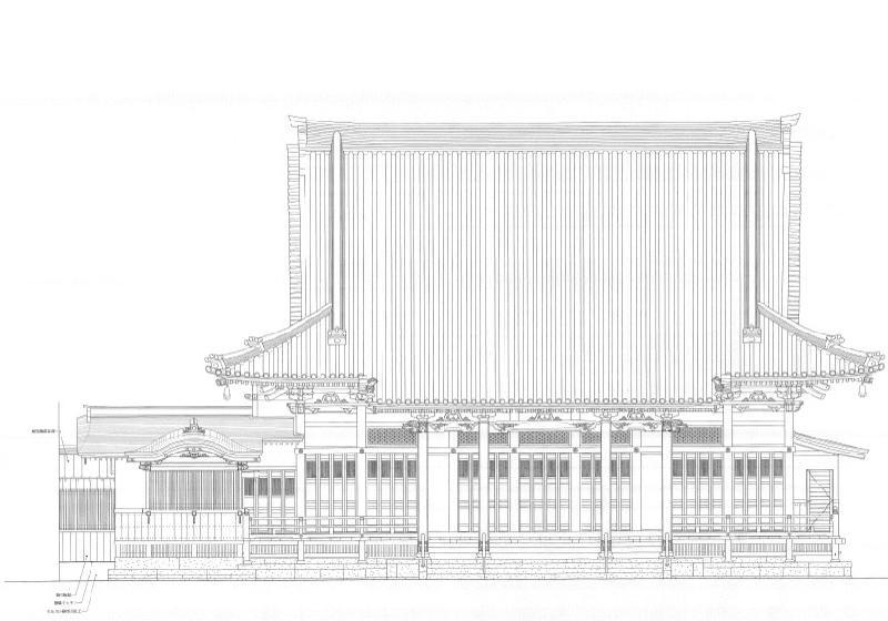 本堂 設計図