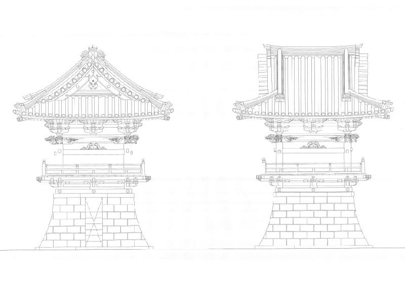 鐘楼 設計図