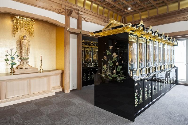 3階須弥壇