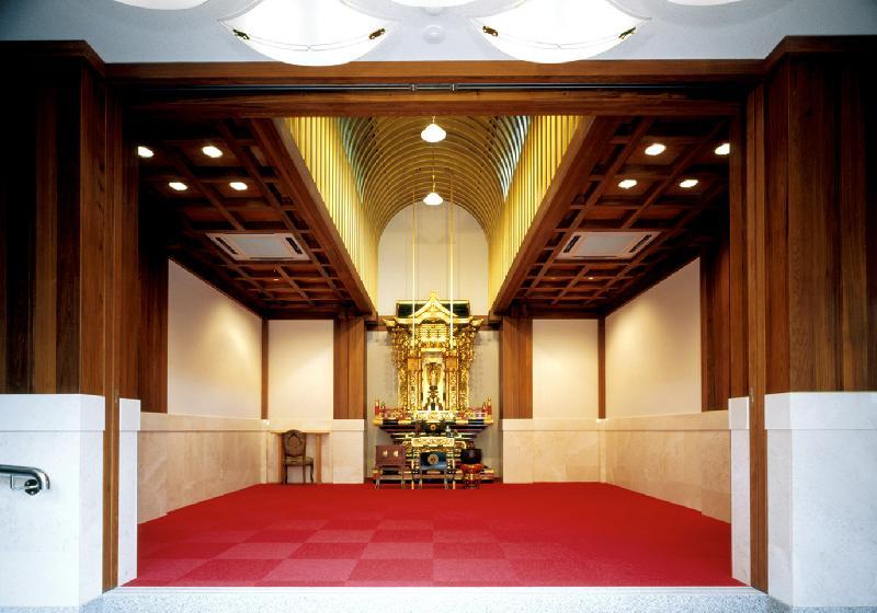 納骨霊廟 内観(ホール)
