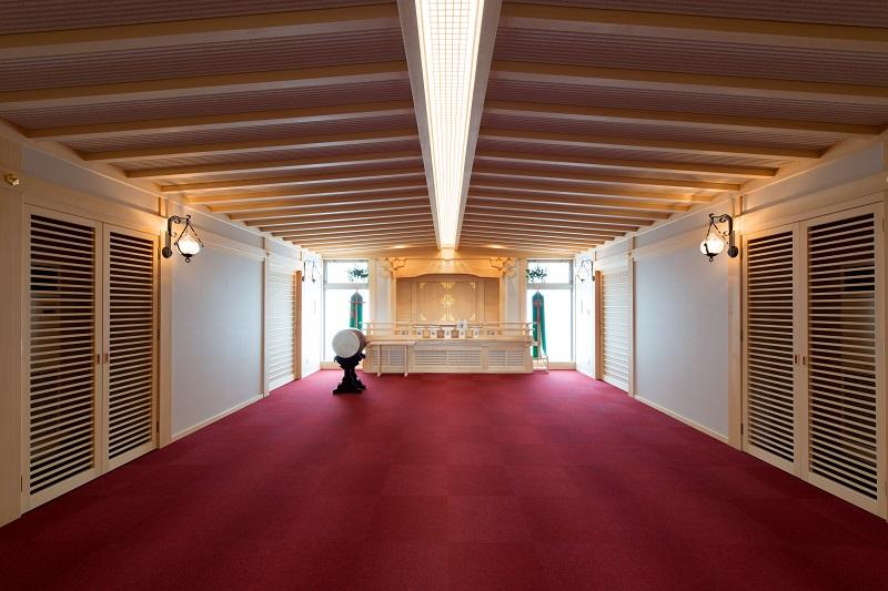 2階祖霊殿